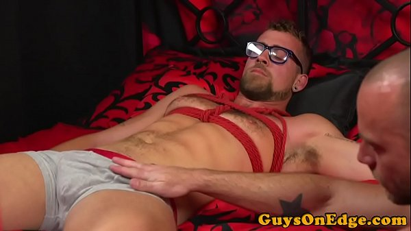 BDSM doms deepthroat and jerk spex subs cock