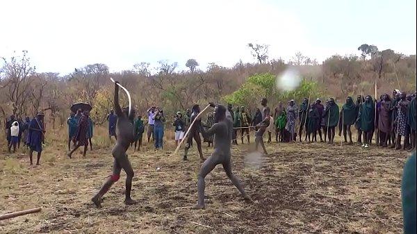 Donga Naked Stick Fight in the Omo https://nakedguyz.blogspot.com