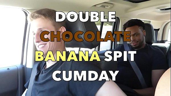 Double Chocolate Banana Spit Cumday