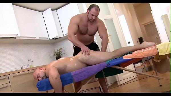 Gay erotic massage clip
