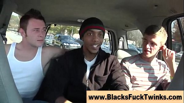 Hungry black dick interracial hunk
