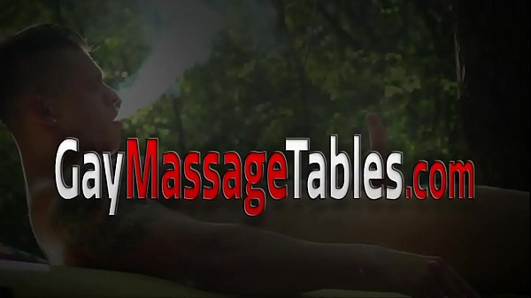 Massage teen gets pounded