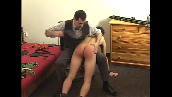 Master spanking his boy Sir Philippe's way; No taboos, No limits