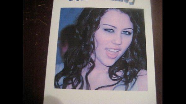 Miley gets a birthday facial