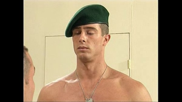 Military Nude Files – Foreign Hung Private Marine Pavel is stripped naked by USA army captain