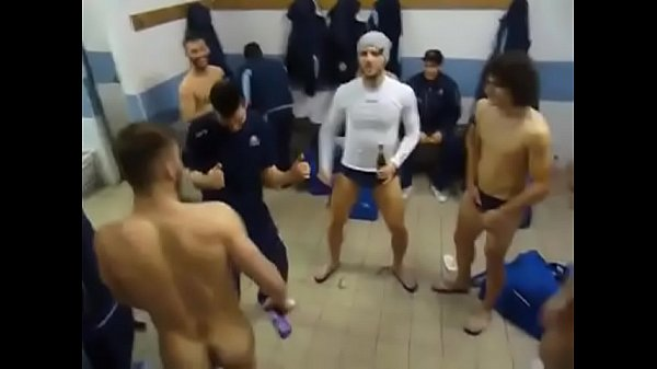 morbazogaytube.net Footballers Celebrate Victory in Changing Rooms