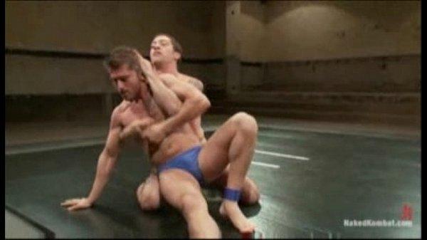 Naked male wrestling