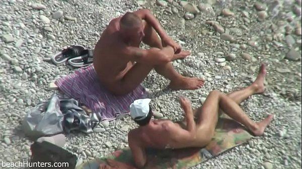 Nudist Beach jerk off cruise
