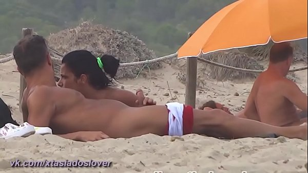 nudist guys caught on the beach 26