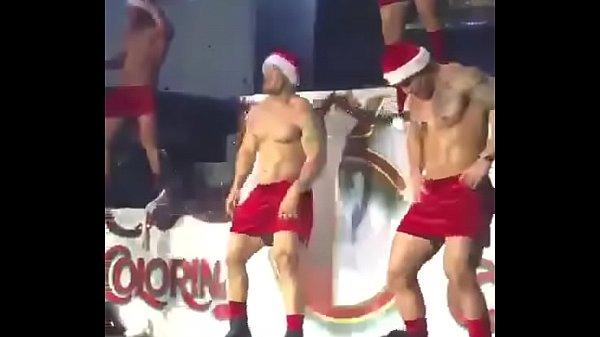 Sexy Santas with huge cocks dancing https://nakedguyz.blogspot.com