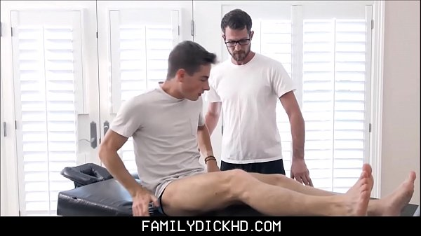 Twink Step Son Fucked By Dad's Friend During Massage