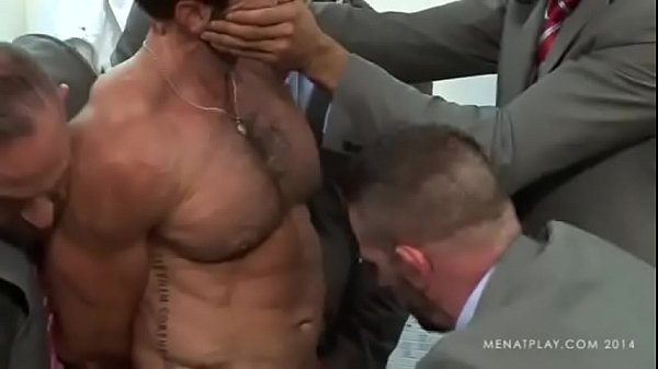 MAP Handsome suited coach gets stripped and abused by his losing team.
