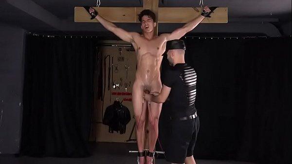 Hot Slave boy electro tortured